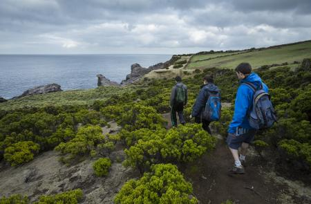 PR2TERBaías da Agualva - Mapas e GPS - Percurso Pedestre na Terceira - Trilhos dos Açores