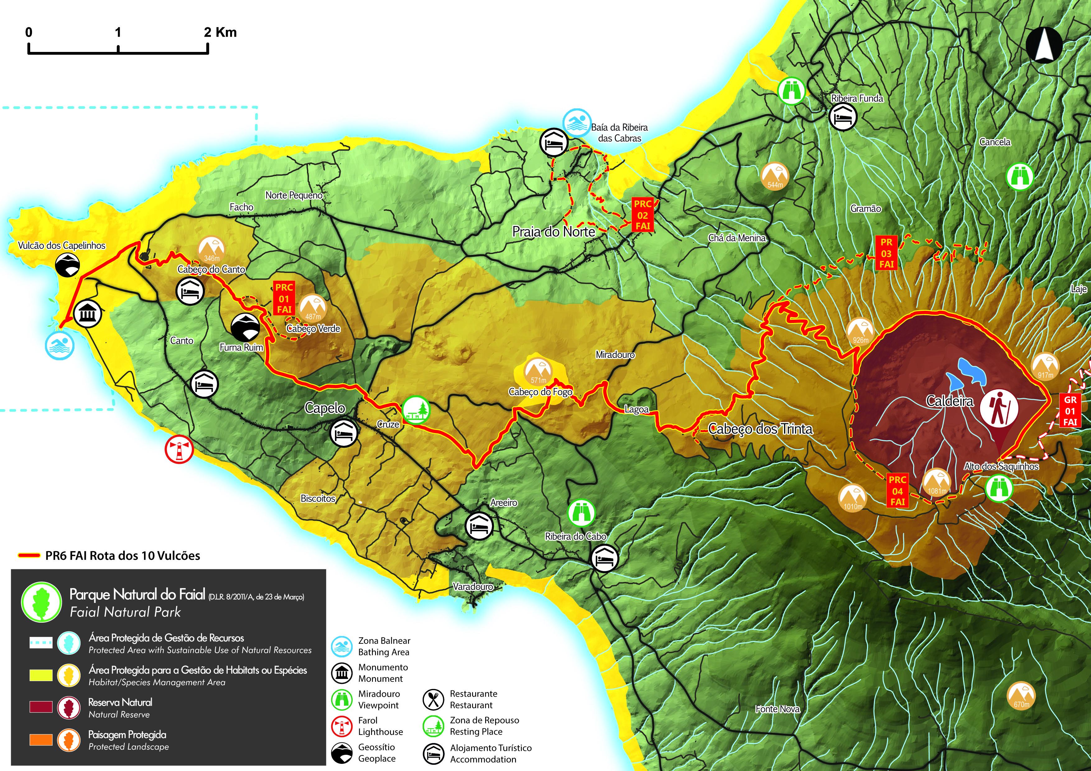 Pr6fai Dez Vulcoes Maps And Gps Tracks Hiking Routes